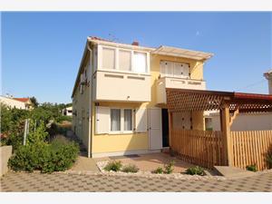 Appartement GROSIC B. (GORICA) Baska - île de Krk, Superficie 70,00 m2, Distance (vol d'oiseau) jusqu'au centre ville 300 m