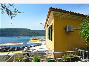 Apartament Rabac Rabac, Powierzchnia 60,00 m2, Odległość do morze mierzona drogą powietrzną wynosi 100 m, Odległość od centrum miasta, przez powietrze jest mierzona 10 m