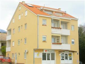 Апартамент Nada Kastel Stari, квадратура 70,00 m2, Воздух расстояние до центра города 100 m
