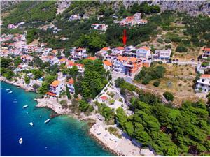 Apartamenty Galic Pisak, Powierzchnia 47,00 m2, Odległość do morze mierzona drogą powietrzną wynosi 100 m, Odległość od centrum miasta, przez powietrze jest mierzona 400 m