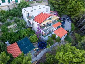 Apartmány Mira Brela, Prostor 35,00 m2, Vzdušní vzdálenost od moře 100 m