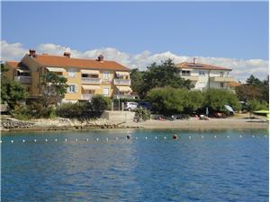 Beachfront accommodation TIHA Silo - island Krk,Book Beachfront accommodation TIHA From 61 €