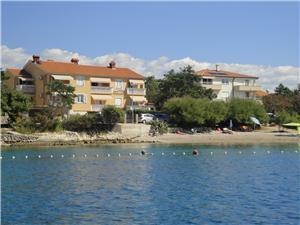Beachfront accommodation TIHA Silo - island Krk,Book Beachfront accommodation TIHA From 94 €