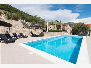 Dom Villa IS Orebic, Rozloha 225,00 m2, Ubytovanie sbazénom