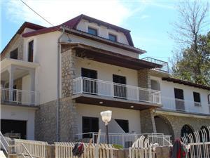 Apartmány Majpruz Silo - ostrov Krk, Rozloha 50,00 m2, Vzdušná vzdialenosť od mora 220 m