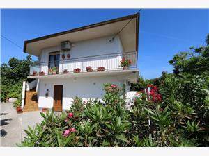 Апартамент Car Marica Silo - ostrov Krk, квадратура 45,00 m2, Воздуха удалённость от моря 130 m, Воздух расстояние до центра города 200 m