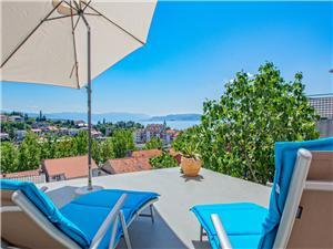 Vakantie huizen De Crikvenica Riviera en Rijeka,Reserveren MARIJO Vanaf 239 €