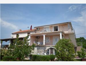 Apartmanok Marković Dobrinj - Krk sziget, Méret 40,00 m2