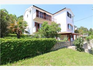 Apartamenty Dunato A. Silo - wyspa Krk, Powierzchnia 40,00 m2, Odległość do morze mierzona drogą powietrzną wynosi 200 m, Odległość od centrum miasta, przez powietrze jest mierzona 300 m