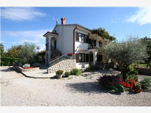 Lägenhet Uravic Dobrinj - ön Krk, Storlek 35,00 m2, Luftavståndet till centrum 180 m