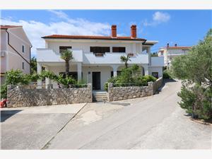 Apartmán Car Darko Silo - ostrov Krk, Prostor 45,00 m2, Vzdušní vzdálenost od moře 180 m, Vzdušní vzdálenost od centra místa 180 m