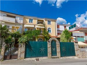 Appartements Gianni Crikvenica, Superficie 23,00 m2, Distance (vol d'oiseau) jusque la mer 200 m, Distance (vol d'oiseau) jusqu'au centre ville 150 m