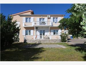 Lägenheter Mihalić Silo - ön Krk, Storlek 45,00 m2, Luftavstånd till havet 200 m, Luftavståndet till centrum 300 m