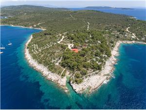 Villa Centovi Dvori Drvenik Veliki, Kwadratuur 300,00 m2, Lucht afstand tot de zee 30 m