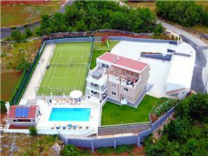 Vila Seven Lakes Imotski, Rozloha 500,00 m2, Ubytovanie sbazénom
