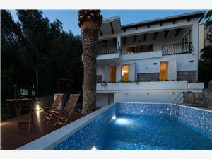 Willa Mia Sv. Stefan, Powierzchnia 150,00 m2, Kwatery z basenem, Odległość od centrum miasta, przez powietrze jest mierzona 10 m