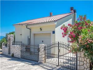 Vakantie huizen De Crikvenica Riviera en Rijeka,Reserveren VLATKO Vanaf 235 €