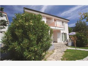 Апартаменты Ville Corinthia Baska - ostrov Krk, квадратура 53,00 m2, размещение с бассейном, Воздуха удалённость от моря 100 m