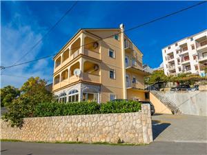 Apartmanok ROKO Crikvenica, Méret 50,00 m2