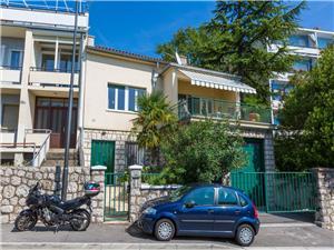 Haus VILLA MARIJA Riviera von Rijeka und Crikvenica, Größe 130,00 m2, Luftlinie bis zum Meer 250 m, Entfernung vom Ortszentrum (Luftlinie) 600 m