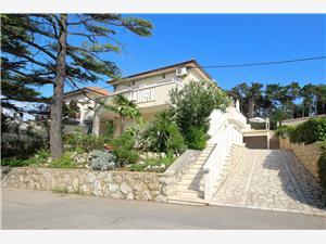 Apartmány Scheich Silo - ostrov Krk, Prostor 34,00 m2, Vzdušní vzdálenost od moře 40 m, Vzdušní vzdálenost od centra místa 400 m