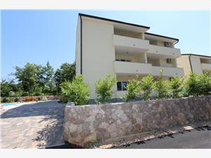 Accommodation with pool BELLATOR Vrbnik - island Krk,Book Accommodation with pool BELLATOR From 48 €