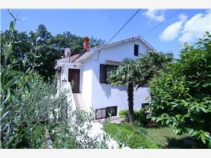 Lägenheter POROPAT Soline - ön Krk, Storlek 50,00 m2