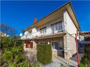 Vakantie huizen De Crikvenica Riviera en Rijeka,Reserveren Drazenka Vanaf 214 €