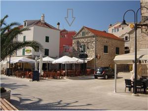 Lägenheter Tutini dvori Primosten, Storlek 47,00 m2, Luftavstånd till havet 40 m, Luftavståndet till centrum 10 m