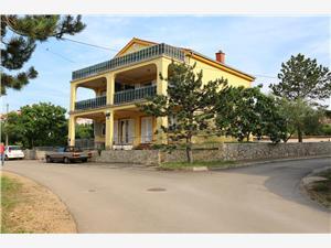 Apartmani Rupcic Verona Klimno - otok Krk, Kvadratura 50,00 m2, Zračna udaljenost od centra mjesta 400 m
