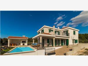 Villa Eni Kroatië, Kwadratuur 200,00 m2, Accommodatie met zwembad, Lucht afstand naar het centrum 650 m