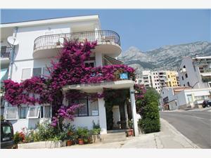 Ferienwohnungen Centar Makarska, Größe 40,00 m2, Entfernung vom Ortszentrum (Luftlinie) 350 m