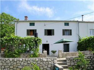 Maison Viskić Supetarska Draga - île de Rab, Superficie 70,00 m2, Distance (vol d'oiseau) jusqu'au centre ville 350 m