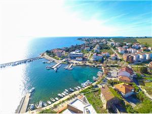 Apartmány IVKA Petrcane ( Zadar ), Prostor 75,00 m2, Vzdušní vzdálenost od moře 20 m, Vzdušní vzdálenost od centra místa 200 m