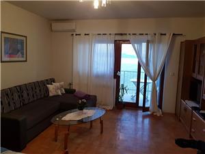 Апартамент Anđela Риека и Цирквеница ривьера, квадратура 50,00 m2, Воздуха удалённость от моря 40 m