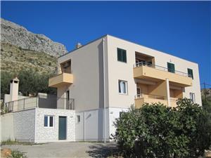 Lägenheter Rejo Dugi Rat, Storlek 57,00 m2, Luftavståndet till centrum 400 m