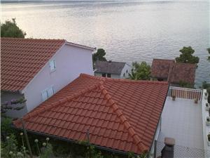 Beachfront accommodation Split and Trogir riviera,Book Nena From 68 €