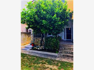 Ferienwohnung Cammino Vrsi (Zadar), Größe 50,00 m2, Luftlinie bis zum Meer 20 m