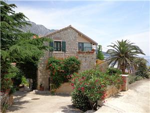 Appartementen Vedrana Makarska Riviera, Stenen huize, Kwadratuur 68,00 m2, Lucht afstand tot de zee 200 m