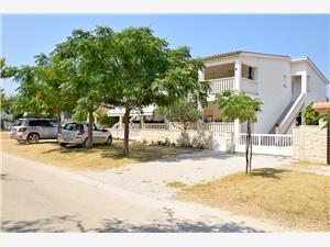 Апартамент DIVA Sabunike (Privlaka), квадратура 80,00 m2, Воздуха удалённость от моря 150 m, Воздух расстояние до центра города 250 m