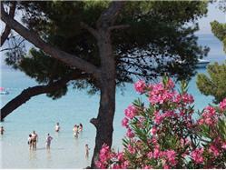 Slanica Murter - wyspa Murter Plaža
