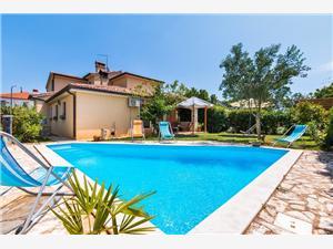 Kuća za odmor Casa Tatiana Ližnjan, Kvadratura 180,00 m2, Smještaj s bazenom, Zračna udaljenost od centra mjesta 590 m