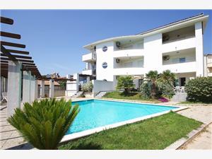 Apartmani House Sonja Medulin, Kvadratura 54,00 m2, Smještaj s bazenom