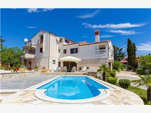 Apartmán House Vjera Modrá Istria, Rozloha 16,00 m2, Ubytovanie sbazénom, Vzdušná vzdialenosť od centra miesta 400 m