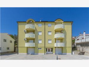 Appartementen Casa Verde Premantura, Kwadratuur 60,00 m2, Lucht afstand naar het centrum 450 m