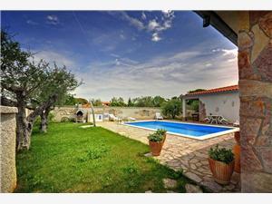 Apartmani Casa Valelunga Pula, Kvadratura 90,00 m2, Smještaj s bazenom