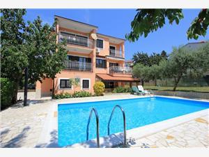 Appartementen Casa Susy Pula, Kwadratuur 60,00 m2, Accommodatie met zwembad