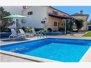 Villa Viola Krnica (Pula), Kwadratuur 120,00 m2, Accommodatie met zwembad