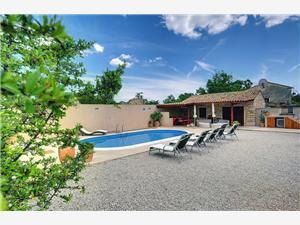 Casa Smolica Krnica (Pula), Kwadratuur 120,00 m2, Accommodatie met zwembad