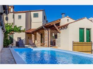 Vakantie huizen Blauw Istrië,Reserveren Teresa Vanaf 278 €
